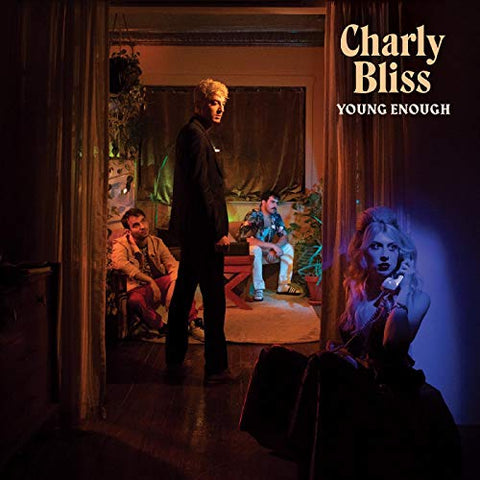 <b>Charly Bliss </b><br><i>Young Enough [Blue Vinyl]</i>
