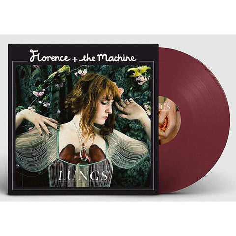 <b>Florence + The Machine </b><br><i>Lungs [Red Vinyl]</i>