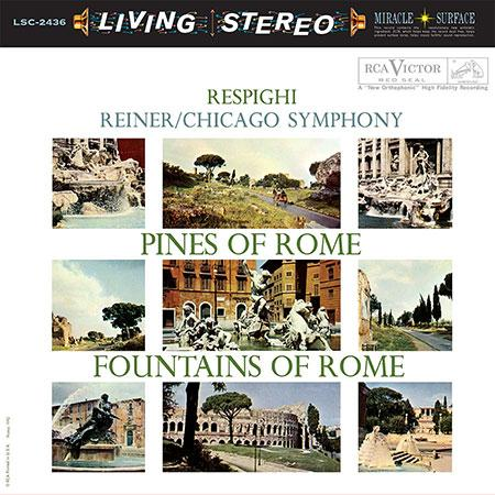 <b>Fritz Reiner </b><br><i>Pines Of Rome / Fountains Of Rome</i>