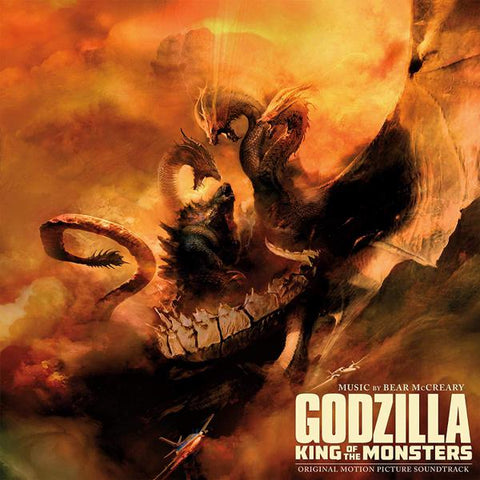 <b>Bear McCreary </b><br><i>Godzilla: King of the Monsters (Original Motion Picture Soundtrack) [Kaiju Colored Vinyl]</i>