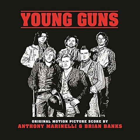 <b>Anthony Marinelli, Brian Banks </b><br><i>Young Guns Original Motion Picture Score</i>