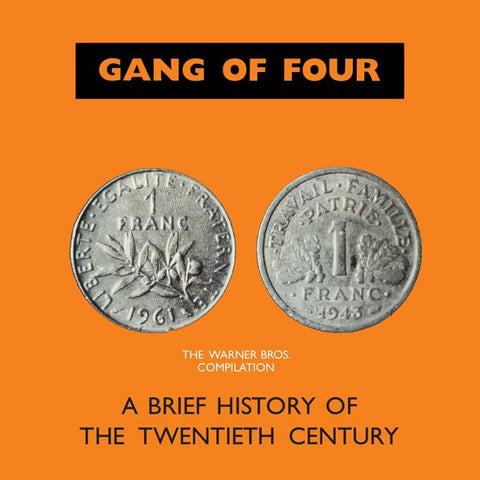 <b>Gang Of Four </b><br><i>A Brief History Of The Twentieth Century [2LP][Back To The 80's Exclusive] </i><br>Release Date : 07/24/2018