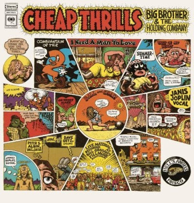 Big Brother & The Holding Company Featuring Janis Joplin Cheap Thrills
