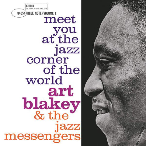 <b>Art Blakey & The Jazz Messengers </b><br><i>Meet You At The Jazz Corner Of The World - Vol 2 [Blue Note 80th Anniversary Series]</i>