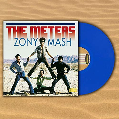 <b>The Meters </b><br><i>Zony Mash [Blue Vinyl]</i>