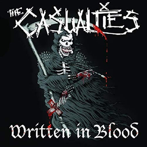 <b>The Casualties </b><br><i>Written In Blood</i>