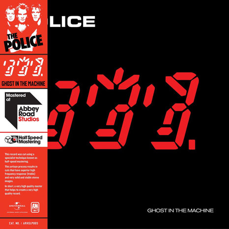 <b>The Police </b><br><i>Ghost In The Machine [Half Speed Mastered]</i>