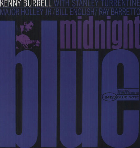 <b>Kenny Burrell </b><br><i>Midnight Blue [2LP, 45 RPM]</i>