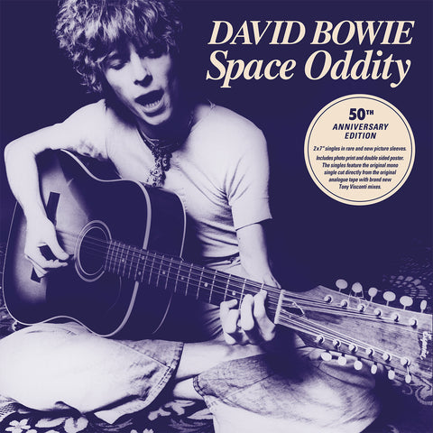 "<b>David Bowie </b><br><i>Space Oddity (50th Anniversary Edition) EP [2x 7"" Box Sex]</i>"