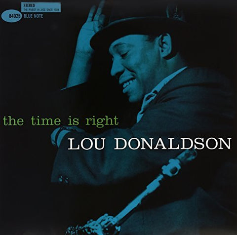 <b>Lou Donaldson </b><br><i>The Time Is Right [2LP, 45RPM]</i>