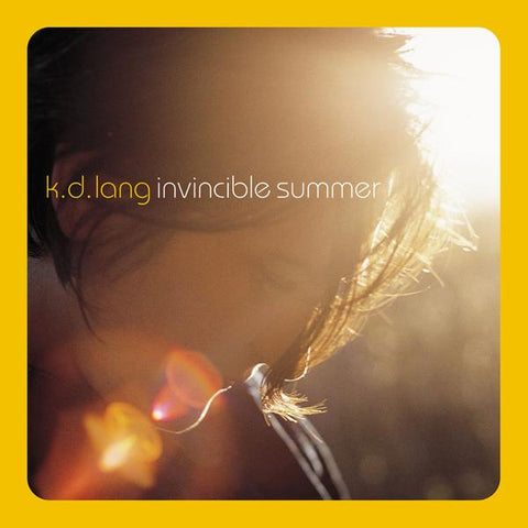 <b>k.d. lang </b><br><i>Invincible Summer [Yellow-Orange Vinyl] [SYEOR 2021 Exclusive]</i>