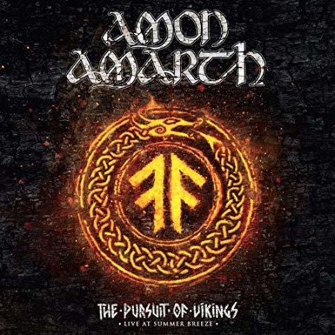<b>Amon Amarth </b><br><i>The Pursuit of Vikings: Live at Summer Breeze [Transparent Orange Vinyl]</i>