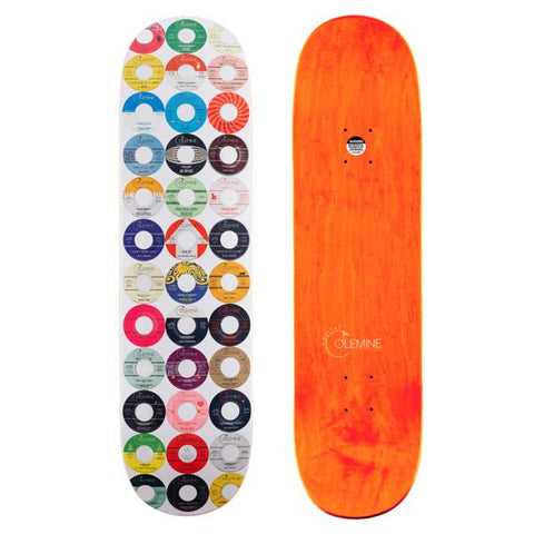 "<b>Colemine Records / Habitat Skateboards </b><br><i>Soul Slabs Vol. 2 Collaboration 8.50"" Deck [PLEASE see description for shipping cost details]</i>"