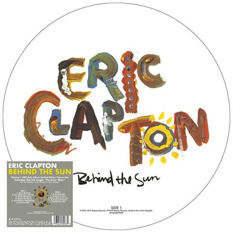 <b>Eric Clapton </b><br><i>Behind The Sun [Picture Disc]</i>