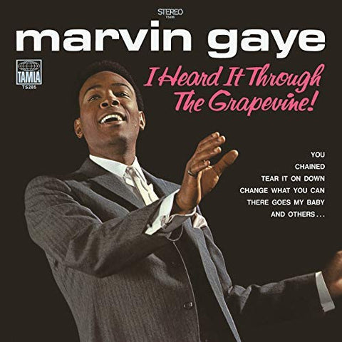 <b>Marvin Gaye </b><br><i>I Heard It Through The Grapevine!</i>