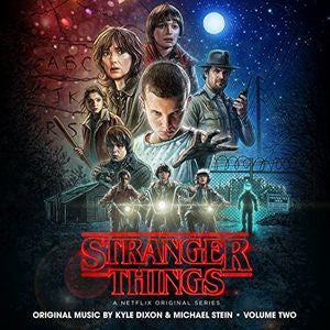<b>Kyle Dixon, Michael Stein </b><br><i>Stranger Things Volume Two (A Netflix Original Series)<br>Ultra Clear Black Salt N Peppa Colored Vinyl</i>