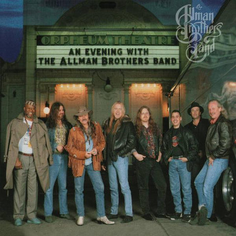 <b>The Allman Brothers Band </b><br><i>An Evening With The Allman Brothers Band: First Set [Blue & Black Swirl]</i>