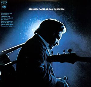 <b>Johnny Cash </b><br><i>Johnny Cash At San Quentin</i>
