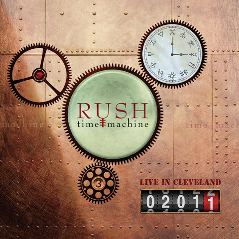 <b>Rush </b><br><i>Time Machine 2011: Live In Cleveland</i>