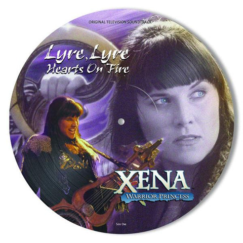 <b>Various </b><br><i>Xena: Warrior Princess: Lyre, Lyre, Hearts on Fire (Original Television Soundtrack) [Picture Disc]</i>