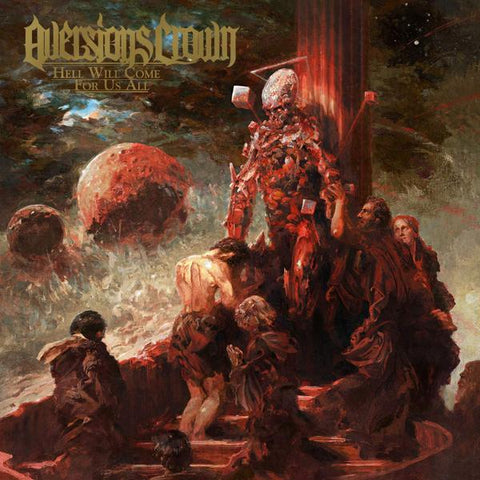 <b>Aversions Crown </b><br><i>Hell Will Come For Us All [Red w/ Black Splatter]</i>