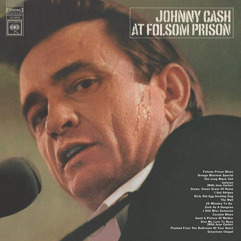 <b>Johnny Cash </b><br><i>At Folsom Prison</i>