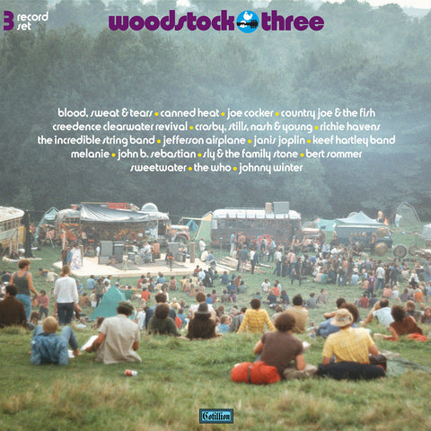 <b>Various Artists </b><br><i>Woodstock Three [3-lp, 180-gram Black Vinyl] [Rhino Summer Of 69 Exclusive]</i>