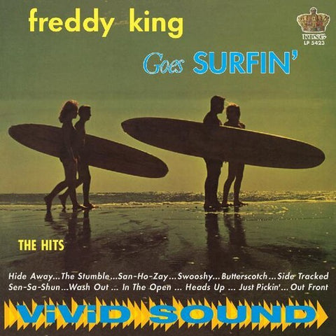 <b>Freddie King </b><br><i>Freddy King Goes Surfin' [Blue Vinyl]</i>