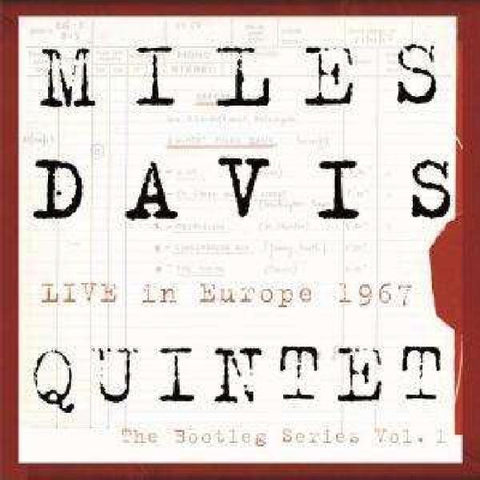 <b>Miles Davis Quintet </b><br><i>Live In Europe 1967 (The Bootleg Series Vol. 1) [Import]</i>
