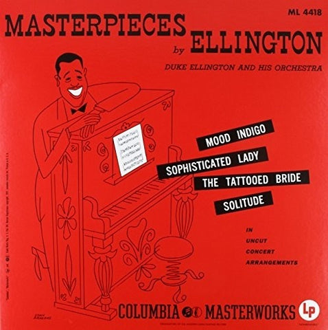 <b>Duke Ellington And His Orchestra </b><br><i>Masterpieces By Ellington</i>