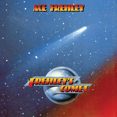 <b>Ace Frehley </b><br><i>Frehley's Comet [Blue/White Marble Vinyl] [ROCKtober 2017 Exclusive]</i>