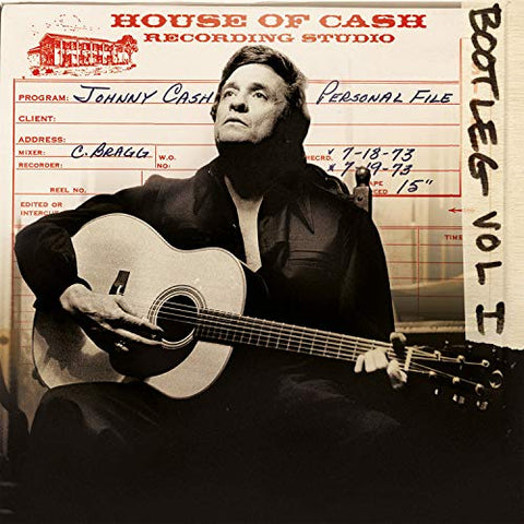<b>Johnny Cash </b><br><i>Bootleg Vol I: Personal File [3-lp] [Import] [Colored Vinyl]</i>