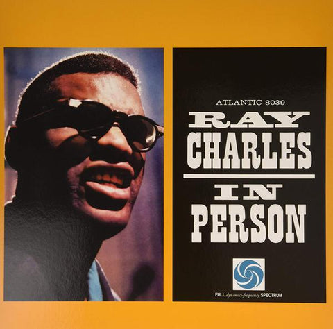 <b>Ray Charles </b><br><i>Ray Charles In Person</i>