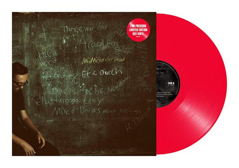 <b>Eric Church </b><br><i>Mr. Misunderstood [Red Vinyl]</i>