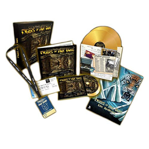 <b>Tygers Of Pan Tang </b><br><i>Hellbound Spellbound Live 1981 [Box Set]</i>