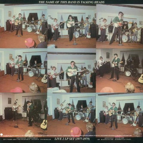 <b>Talking Heads </b><br><i>The Name Of This Band Is Talking Heads [Red Vinyl] [SYEOR 2021 Exclusive]</i>