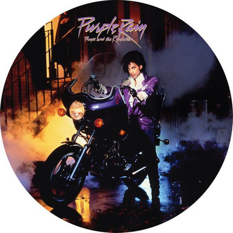 <b>Prince And The Revolution </b><br><i>Purple Rain [Picture Disc]</i>