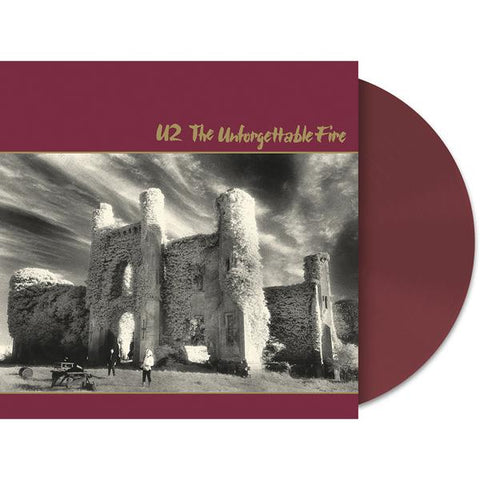 <b>U2 </b><br><i>The Unforgettable Fire [Wine Colored Vinyl]</i>