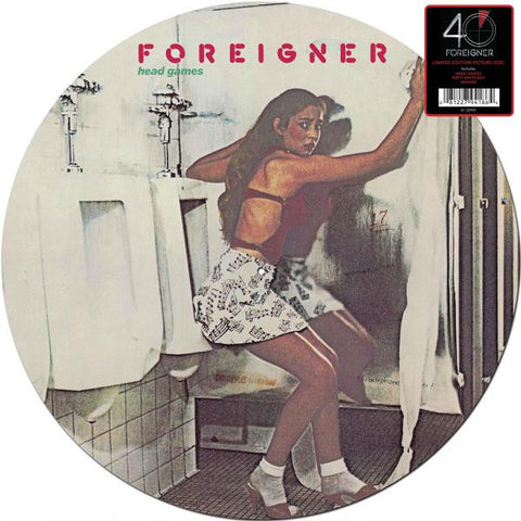 <b>Foreigner </b><br><i>Head Games (Picture Disc)(SYEOR 2017 Exclusive)</i>