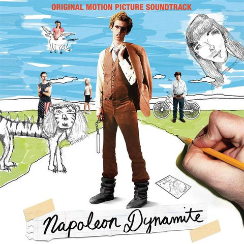 <b>Various </b><br><i>Napoleon Dynamite (Original Motion Picture Soundtrack) [Clear Vinyl]</i>