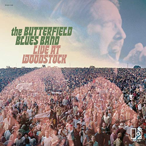 <b>The Butterfield Blues Band </b><br><i>Live At Woodstock</i>