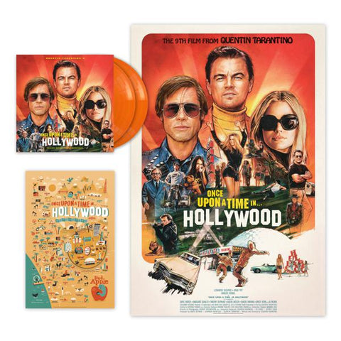 <b>Various </b><br><i>Quentin Tarantino's Once Upon a Time in Hollywood Original Motion Picture Soundtrack [Indie-Exclusive Orange Vinyl] </i><br>Release Date : 10/25/2019