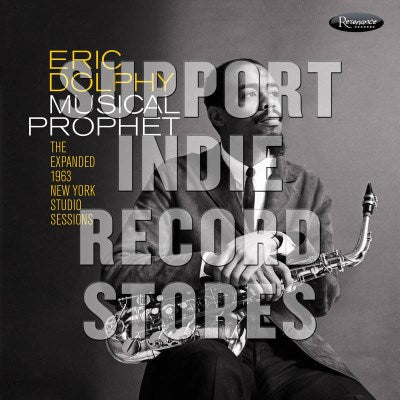 <b>Eric Dolphy </b><br><i>Musical Prophet: The Expanded N.Y. Studio Sessions (1962-1963)</i>