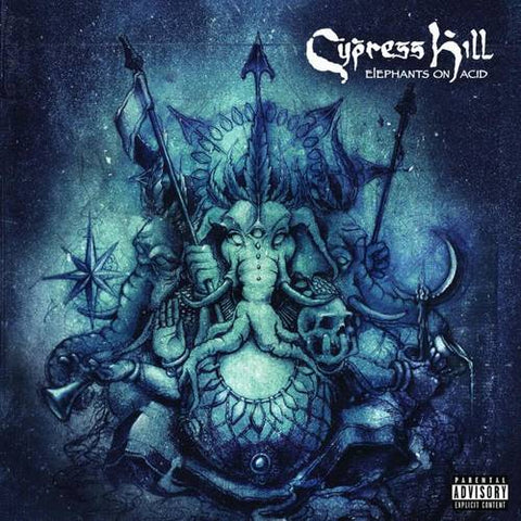 <b>Cypress Hill </b><br><i>Elephants On Acid [Indie-Exclusive Blue/Grey Vinyl]</i>