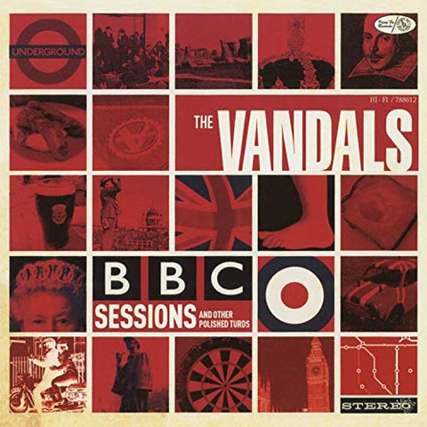 <b>The Vandals </b><br><i>B.B.C. Sessions And Other Polished Turds [Red Vinyl]</i>