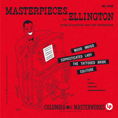<b>Duke Ellington And His Orchestra </b><br><i>Masterpieces By Ellington [2LP, 45 RPM]</i>