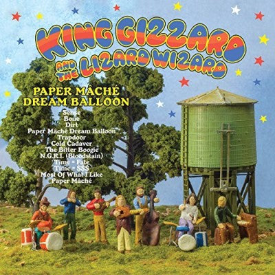 <b>King Gizzard and The Lizard Wizard </b><br><i>Paper Mache Dream Balloon</i>