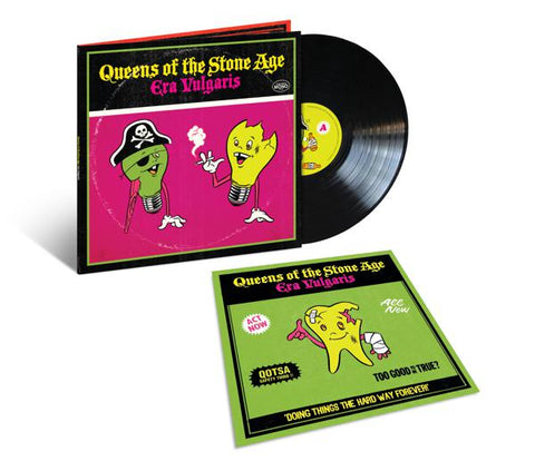 <b>Queens Of The Stone Age </b><br><i>Era Vulgaris </i><br>Release Date : 12/20/2019