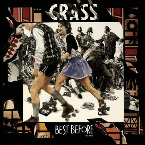 <b>Crass </b><br><i>Best Before 1984 </i><br>Release Date : 08/16/2019