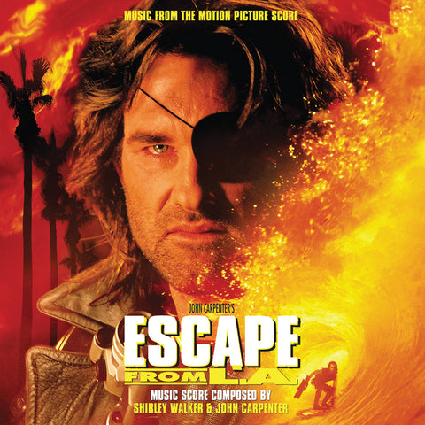 <b>Shirley Walker & John Carpenter </b><br><i>Escape From L.A. - Music From The Motion Picture Score [Colored Vinyl]</i>